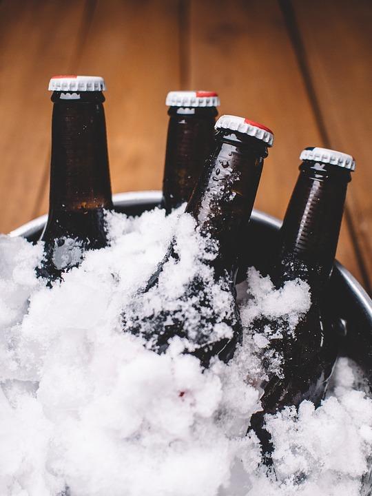 Piwo wymrażane